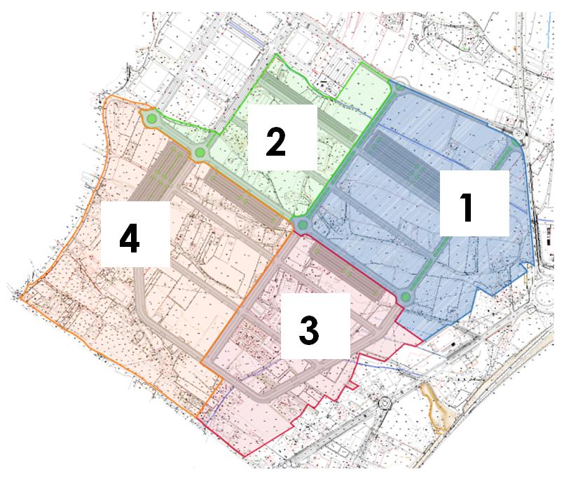 Desarrollo en fases de la ordenación